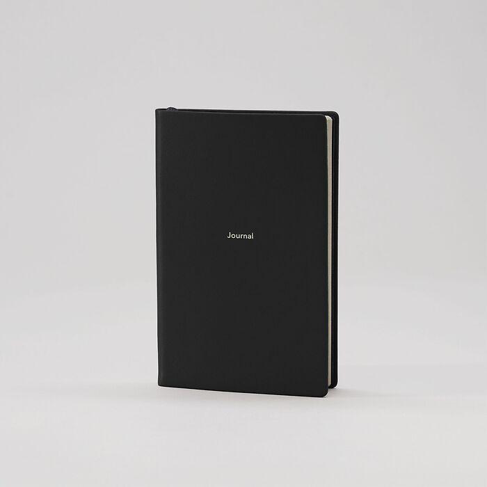 Journal S Notizbuch blanko Nero