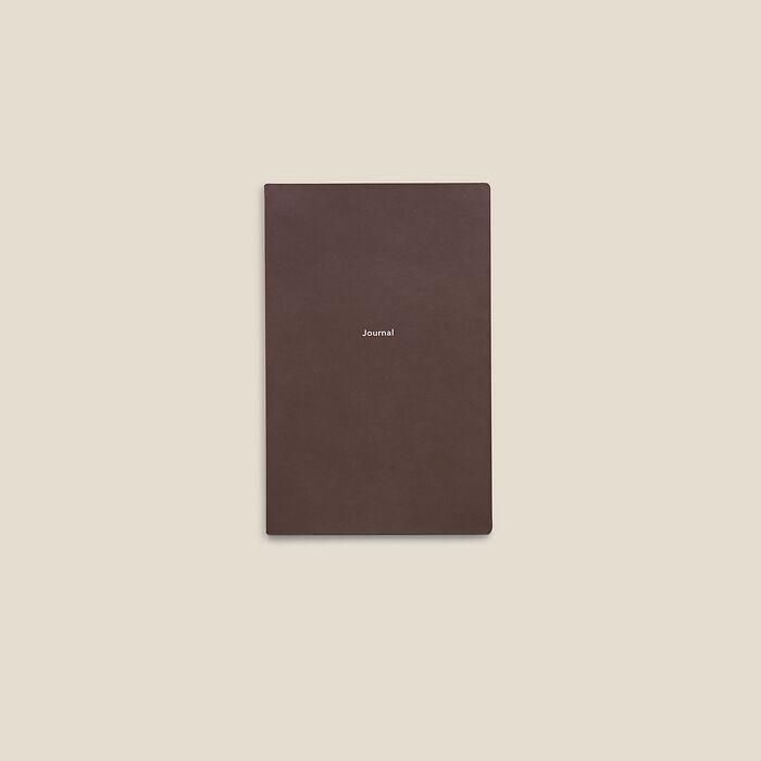 Journal S Notizbuch blanko French Roast