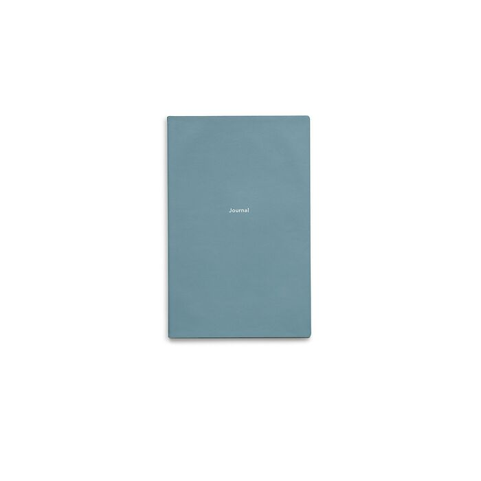 Journal S Notizbuch blanko Pigeon Blue