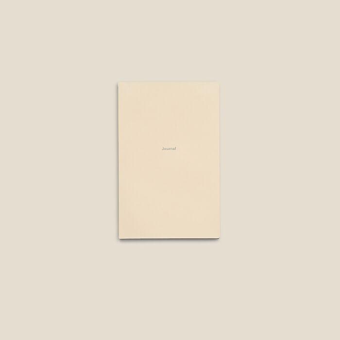 Journal S Notizbuch blanko White Truffle