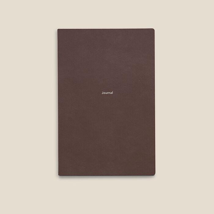 Journal M Notizbuch blanko French Roast