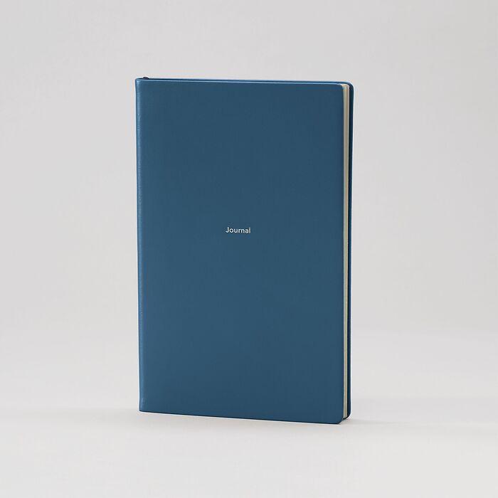 Journal M Notizbuch blanko Prussian Blue