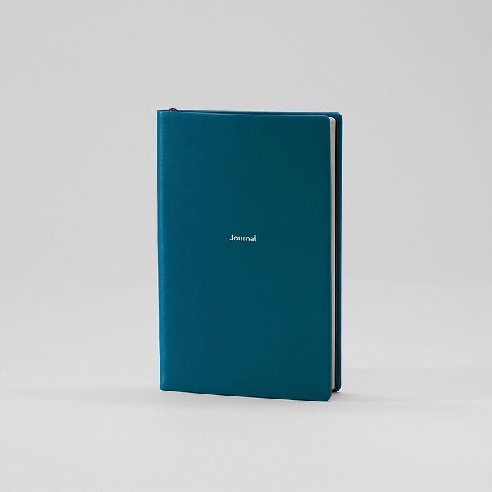 Journal S blanko Petrol Green