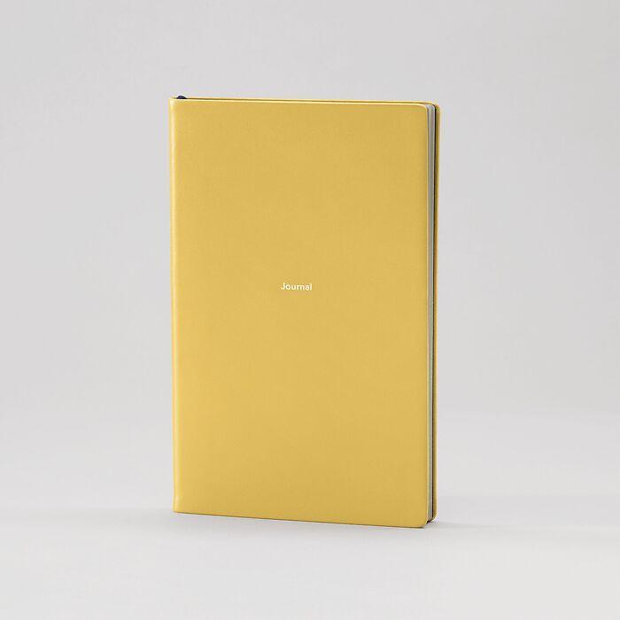 Journal M Notizbuch liniert Mustard