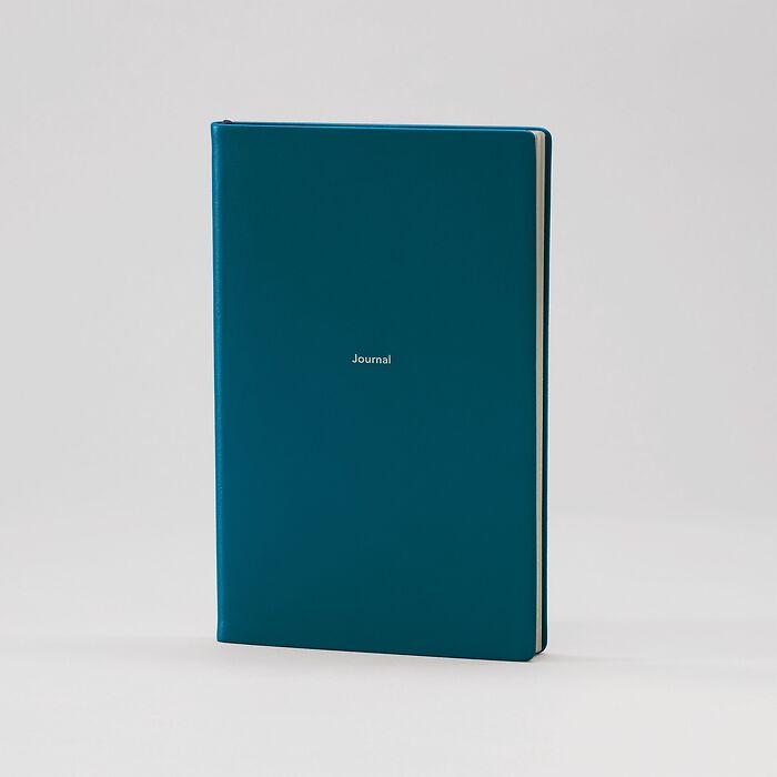 Journal M Notizbuch liniert Petrol Green