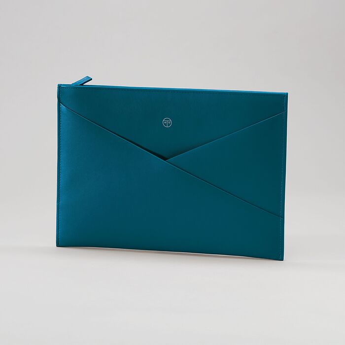 Envelope Pouch Wallaby Petrol Green